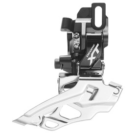 (Shimano Deore XT FD-M786 Forskifter 2-speed Dual Pull sort